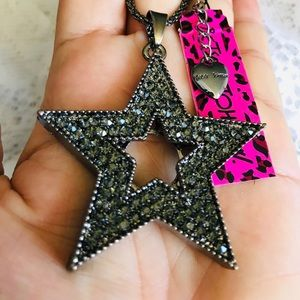 BETSEY JOHNSON~ RockSTAR Necklace